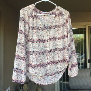 Super cute LUSH button up size small